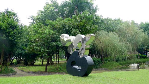 台灣大學法律學院公共藝術設置 01